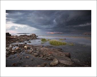 Pott's Point - Storm is Coming - Maine - Color Photo Print - Fine Art Photography (PP03)