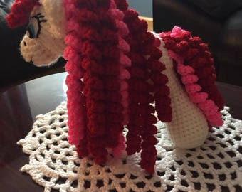 Crochet My Little Pony toy