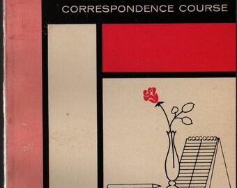 Speedwriting ABC Shorthand Correspondence Course Volume Three + 1966 + Vintage Text Book