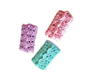 Travel Size Tissue Cover, pocket tissue cover, crochet tissue cozy