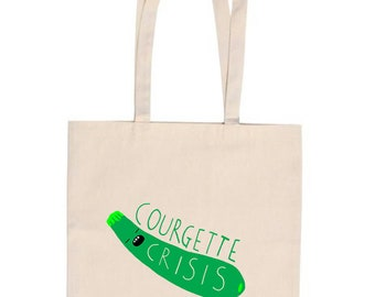 Courgette Crisis Tote Bag