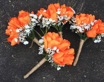 Orange Green Camo Hunting Bouquet
