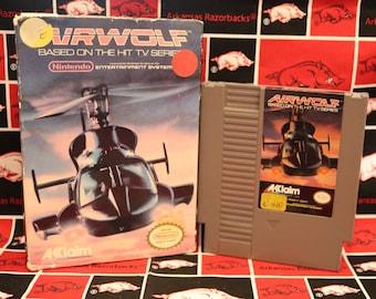 Nintendo Entertainment System Game in Box - 3D World Runnder - Airwolf - Bandi Golf - Trick Shooter - Bill Elliots Nascar - NES Game