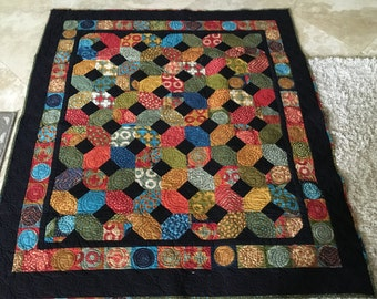 X's and O's Modern Lap Quilt - MADE TO ORDER