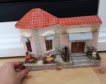1950s handmade miniature house from America