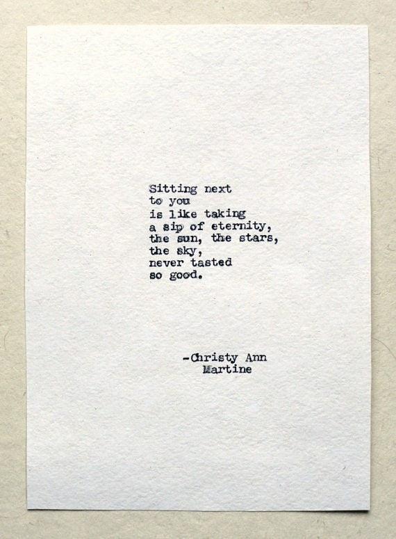 Eternity Poem