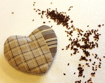 Coldhotto: small pad with flax seeds