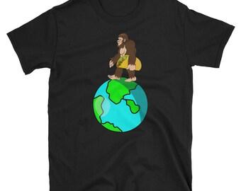 Bigfoot Earth Day Tacos - Cinco De Mayo Mexican Fiesta - No Siesta - Mexico Party  T-Shirt