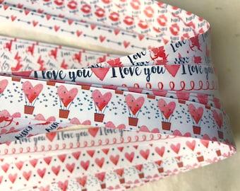 Valentines~ Moravian German Froebel Star Paper (52 strips)