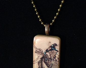 Fairy Sweet Domino Necklace