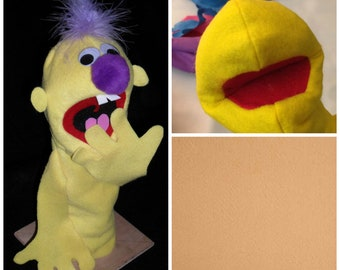 Hand puppet Blank (Camel/flesh tone/FILLED ARMS)