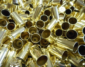 40 S&W Once Fired Brass 350 +  Pieces, Cleaned and Polished Perfect for Jewelry and Crafts. Range Brass, Supplies, Crafting, Steampunk, DIY