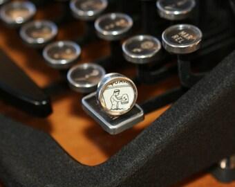 Aquarius Typewriter Key Pin