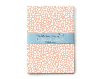 Dotted Travellers Notebook - Journal - Notebook - Exercise Book