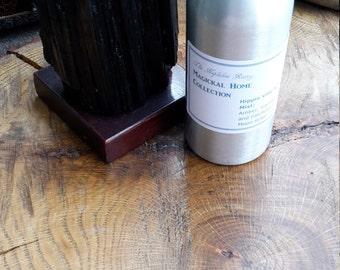 Hippie Vibe Aromatherapy Mist (8 oz.) w/ Clear Quartz Points! ~Room Spray, Fragrance Mist, Essential Oil Spray