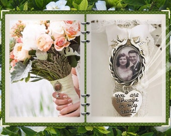 Bridal bouquet charm, Bridal photo charm, I will do your photo!