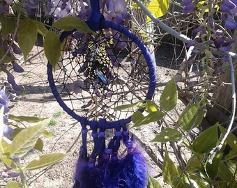 Purple Wisteria Dream Catcher