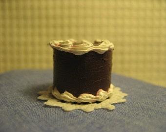 Hand made Miniature Chocolate layer cake