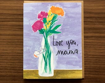 Love you, Mama, Mother's Day Card