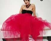 Rock Couture red tulle sk...