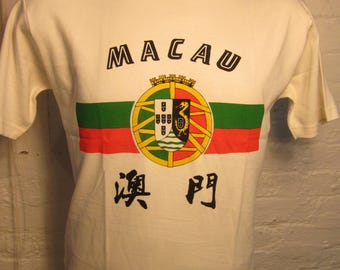 Size XL- (44) ** Macau Shirt (Single Sided)