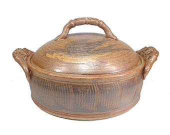 Barn Swallow Casserole Stoneware Serving Baking Dish