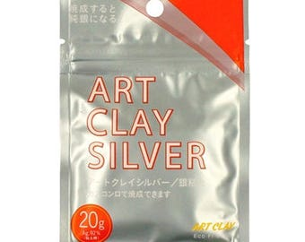 Art Clay Silver Precious Metal Clay 20g CLA002 Craft Crafting Material New Formula