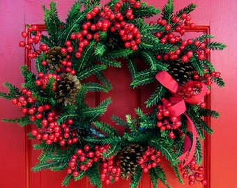 Balsam & Berry Wreath (large)