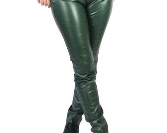 Chippeway faux leather pants