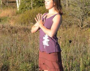 Organic Artemis Short Skirt  (Hemp/organic cotton knit)