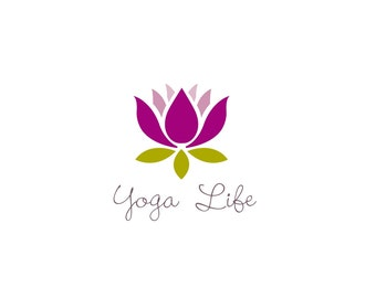 Yoga logo, buy online and it will be customised to you business and available as a download.