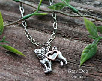 Pug Necklace, Pug Jewelry