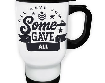 All gave some some gave all S Steel Thermo Travel Mug 14oz v944t
