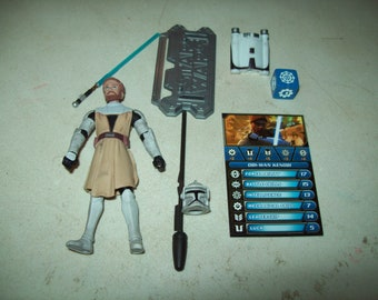 "Star Wars The Clone Wars Obi-Wan Kenobi 3.75"" Loose Figure"