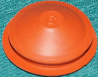Red Rubber Stopper # 6 Package of 5