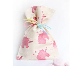 UNICORN Party Favour Bags - Unicorn, unicorn horn, unicorn party, unicorn theme, unicorn favours x 10