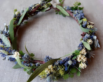 Flower Crown of Lavender