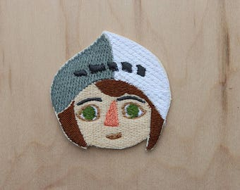 Joan of Arc - Girl Gang Heroes - - St Joan of Arc - Strong Women -Girl Power -Powerful Women -Feminist patch -Women's Month -Feminist Patch