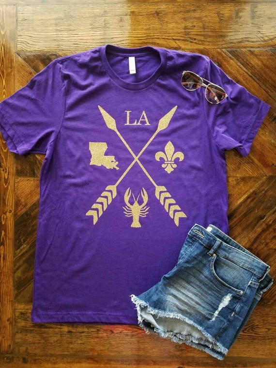 Shirt Louisiana Arrow LSU Football / Pride Louisiana LSU / /