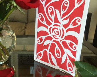 12 Roses Card
