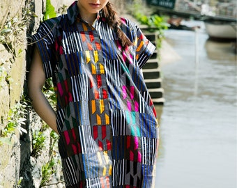 Bohemian Clothing Shirt Dress Casual Dress Summer Dress Ankara Dress Gypsie Dress African Clothing Festival Dress Festival Clothing