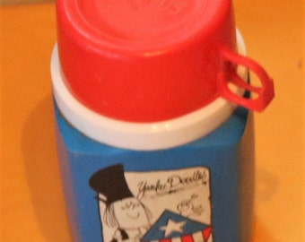 Vintage Yankee Doodle Thermos