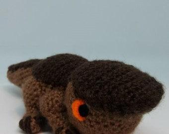 Baby Barroth Crochet Pattern / Monster Hunter New World