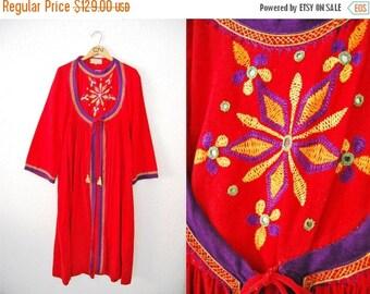 Vintage 60s Boho Bohmeian Hippie Dress CARNABY Street Gypsy Gown