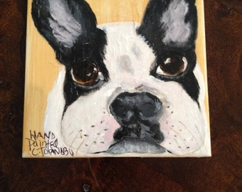 English Bulldog lovers this coaster is a must for your home or office.