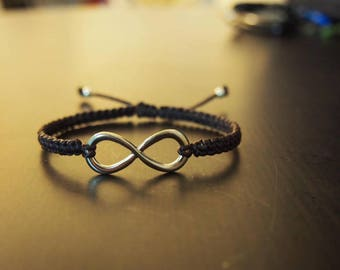 Summer gift sale,Thailand handmade bracelet,Charm bracelet/artisan jewelry/Father's day gift idea for him/Infinity bracelet/Boho accessories