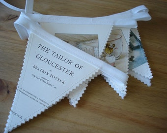 Beatrix Potter bunting - Tailor of Gloucester