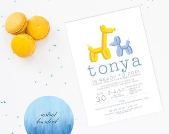 she's about to pop baby shower invitation, baby shower invite, printable invitation, ready to pop shower, ready to pop invite