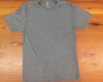 CUSTOM TEXT triblend tshirt