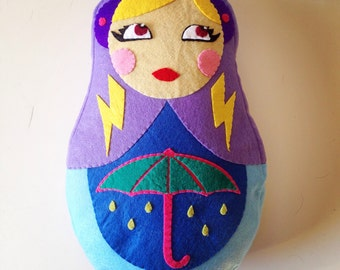 Cushion matryoshka weather